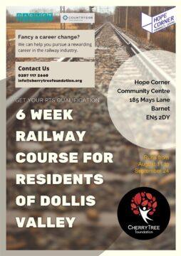 railway industry training poster